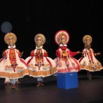 Kathakali Artists Taking a Bow