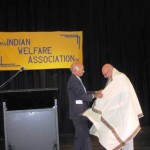 Mr Sampath Honoring Consul General of India Amit DasGupta