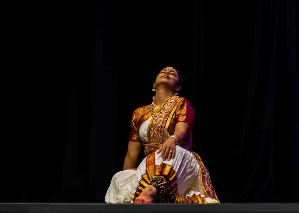During Noopur at Science Theatre, UNSW, Kensington, New South Wales, Australia on 26/10/2014. Photo: Binu Naikaraparambil