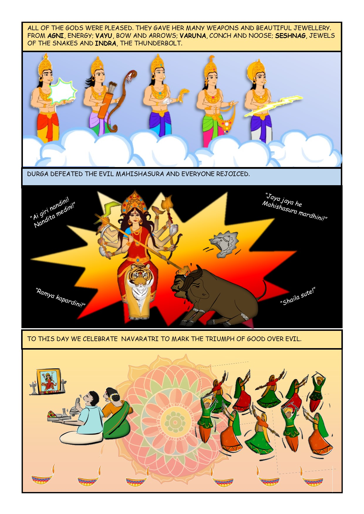 Creation of Durga V2 2